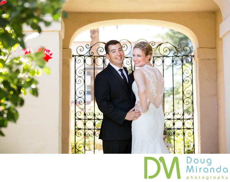 Santa Clara University Mission Church Wedding