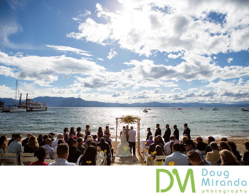 Beach Weddings in South Lake Tahoe