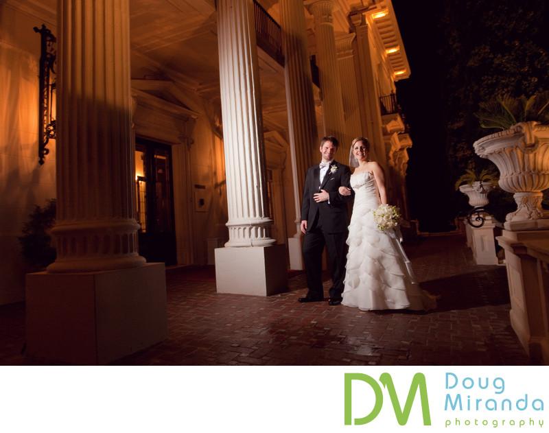 Wedding Photographer at Grand Island Mansion