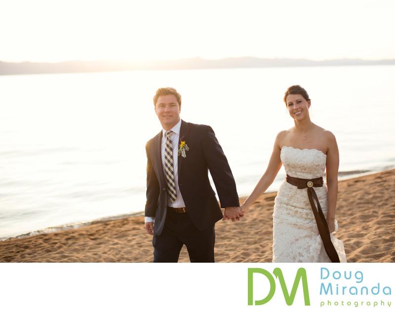 Edgewood Tahoe Beach Wedding Photography