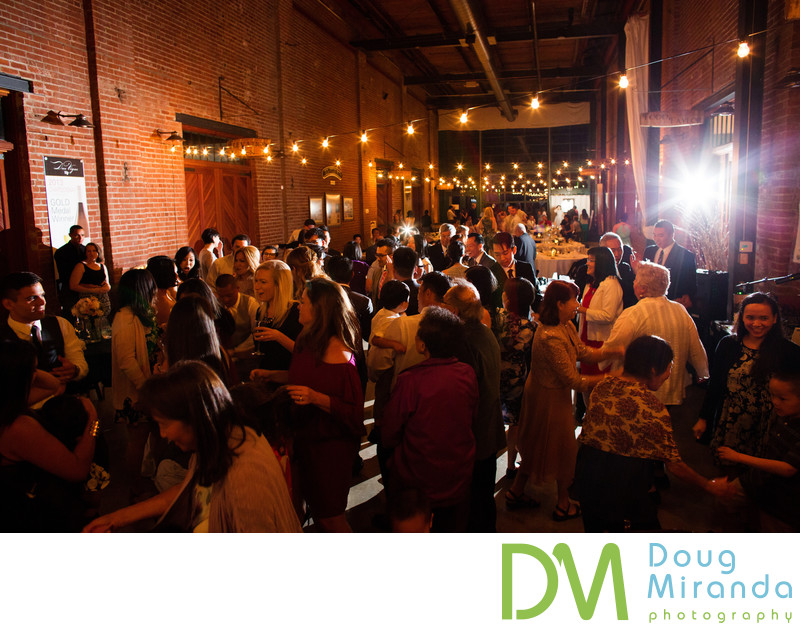 Old Sugar Mill Indoor Wedding Reception Pictures
