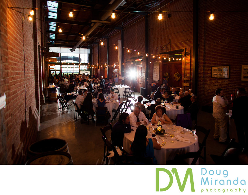 Indoor Wedding Reception Pictures at Old Sugar Mill