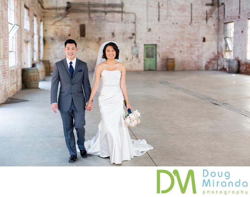 Old Sugar Mill Boiler Room Wedding