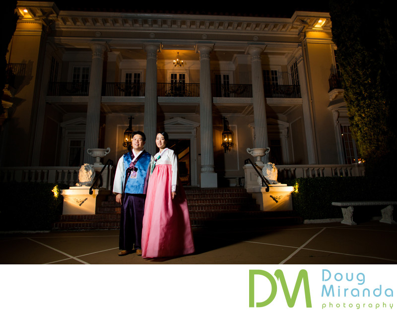 Grand Island Mansion Wedding Photograph