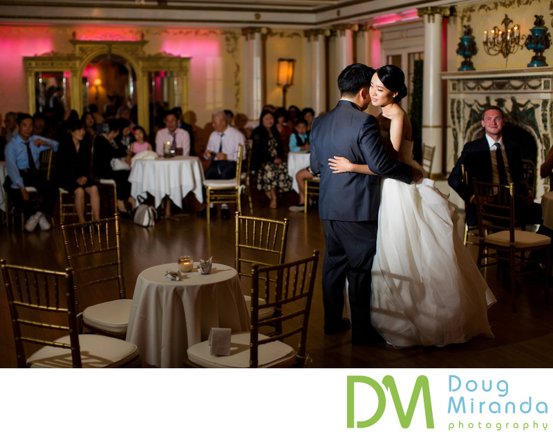Grand Island Mansion Wedding First Dance Photo