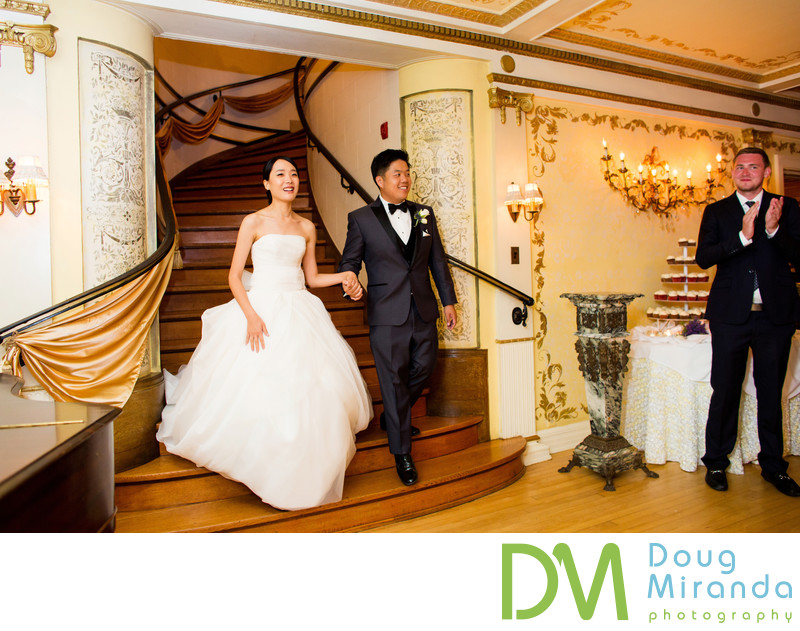 Wedding Reception Photography at Grand Island Mansion