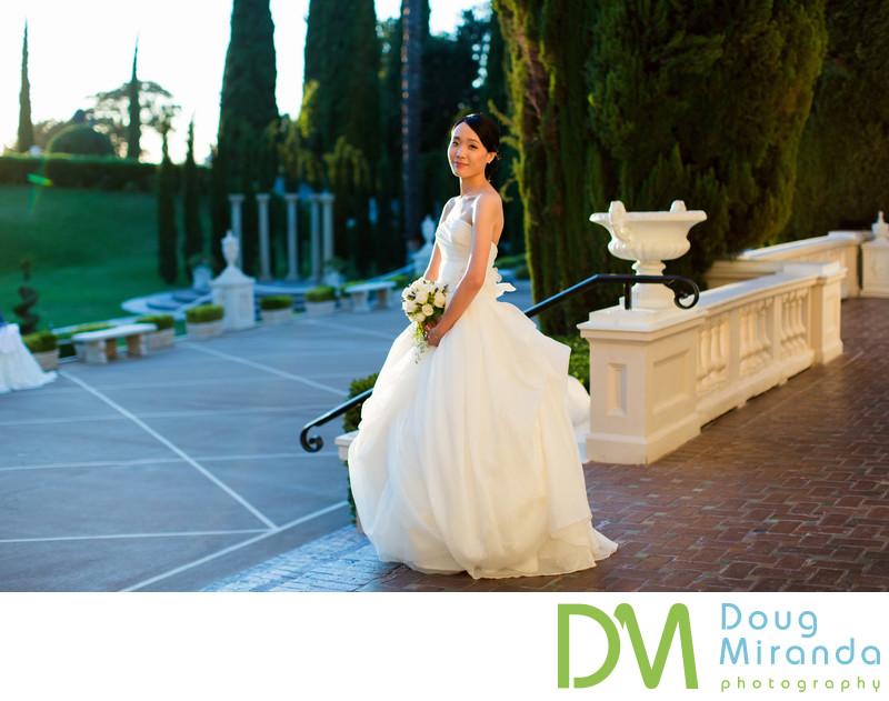Bridal Portait Photos at Grand Island Mansion
