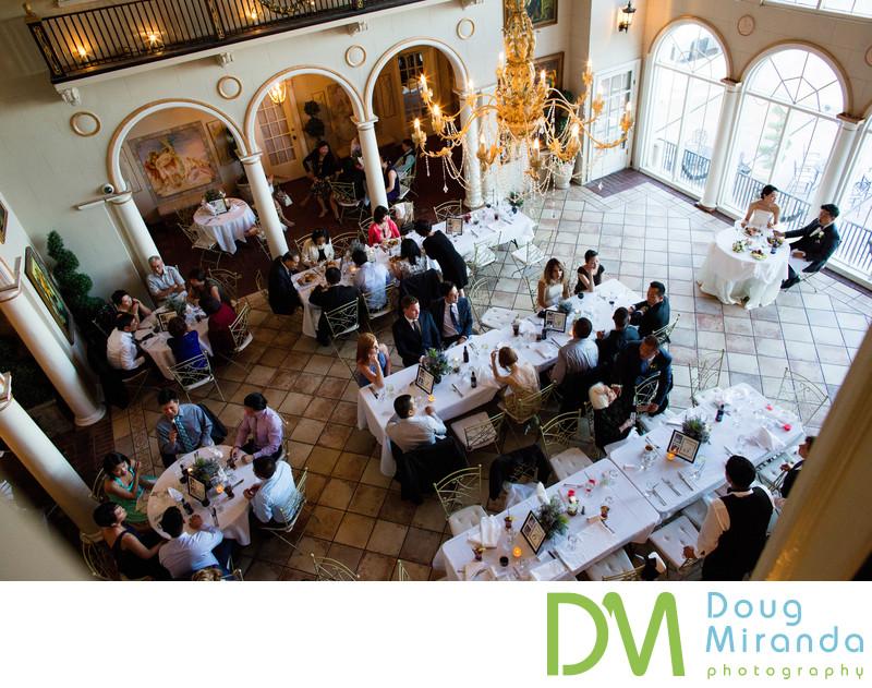 Grand Island Mansion Wedding Reception
