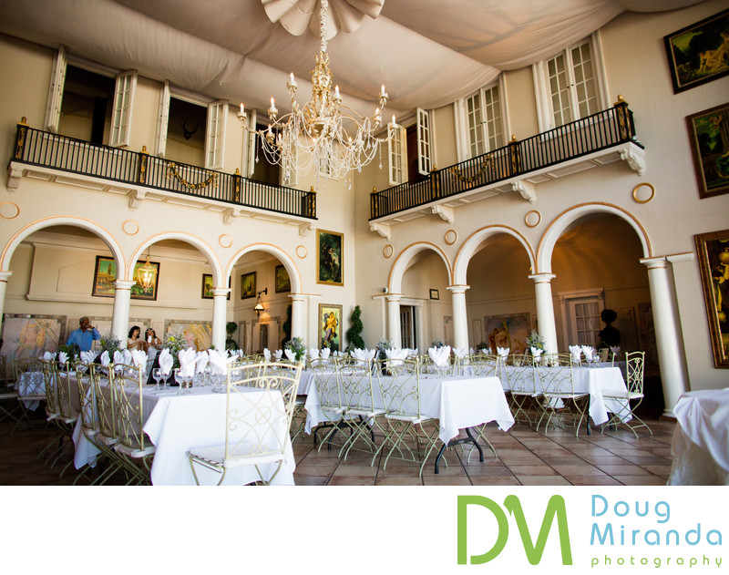 Wedding Reception Pictures at Grand Island Mansion