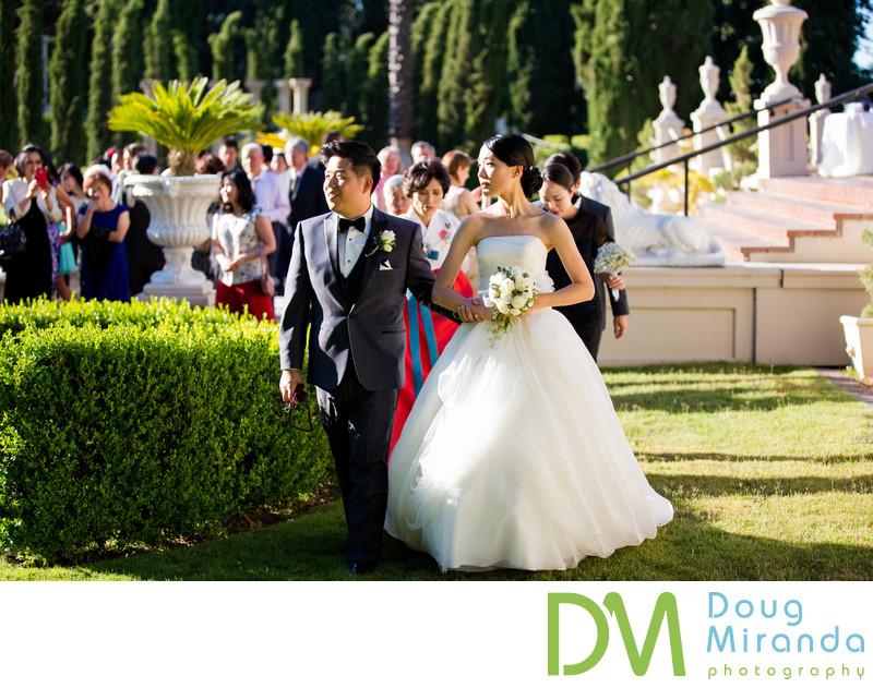 Formal Wedding Photos at Grand Island Mansion
