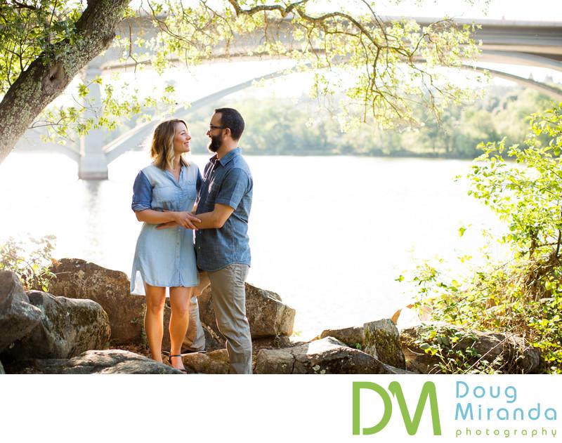 Folsom Lake Engagement Photographers