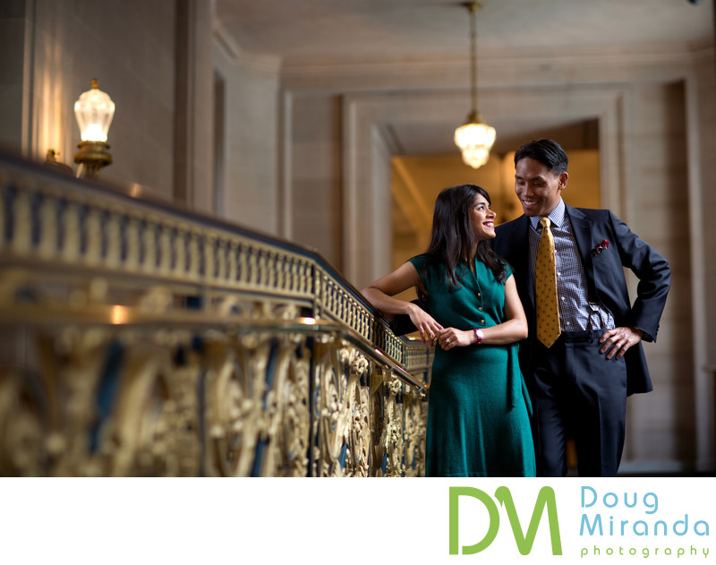 San Francisco City Hall Wedding Photographers