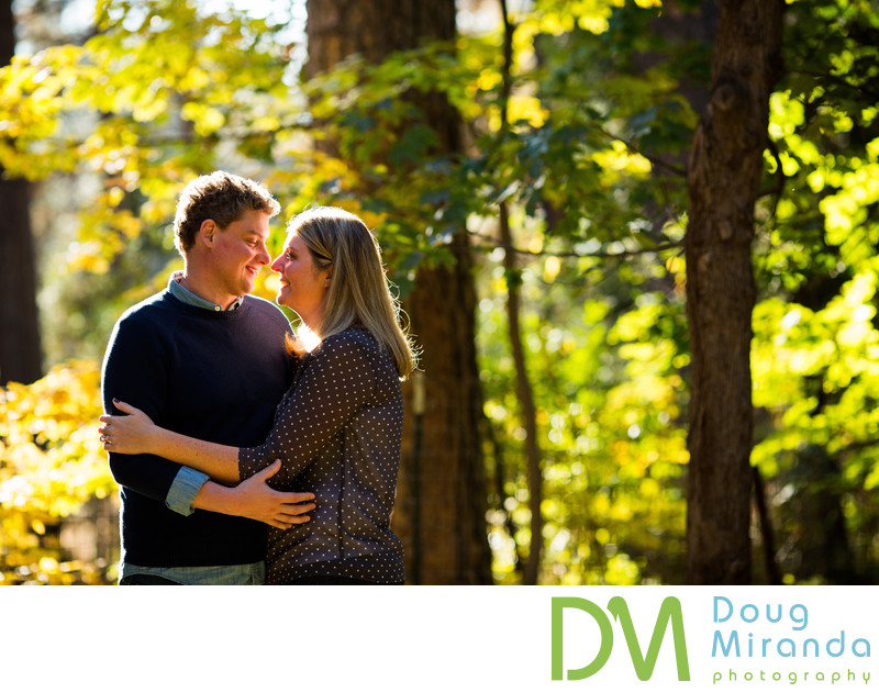 Empire Mine Engagement Photographer