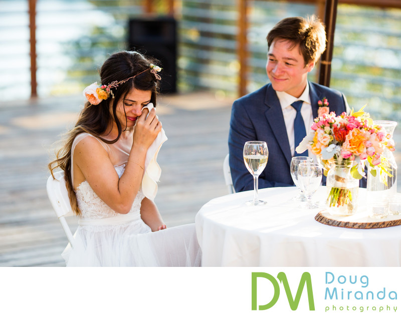 Lake Mary Sugar Bowl Wedding Reception
