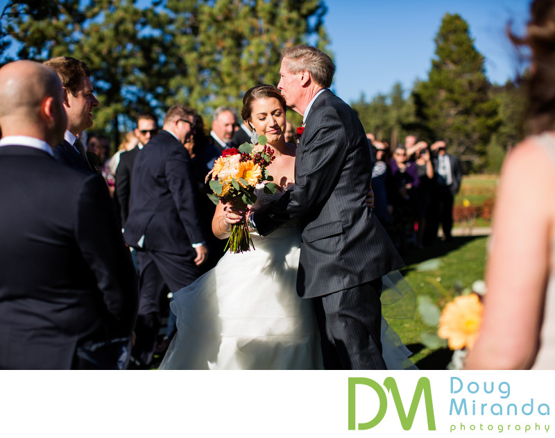 Edgewood Golf Course wedding ceremony photography