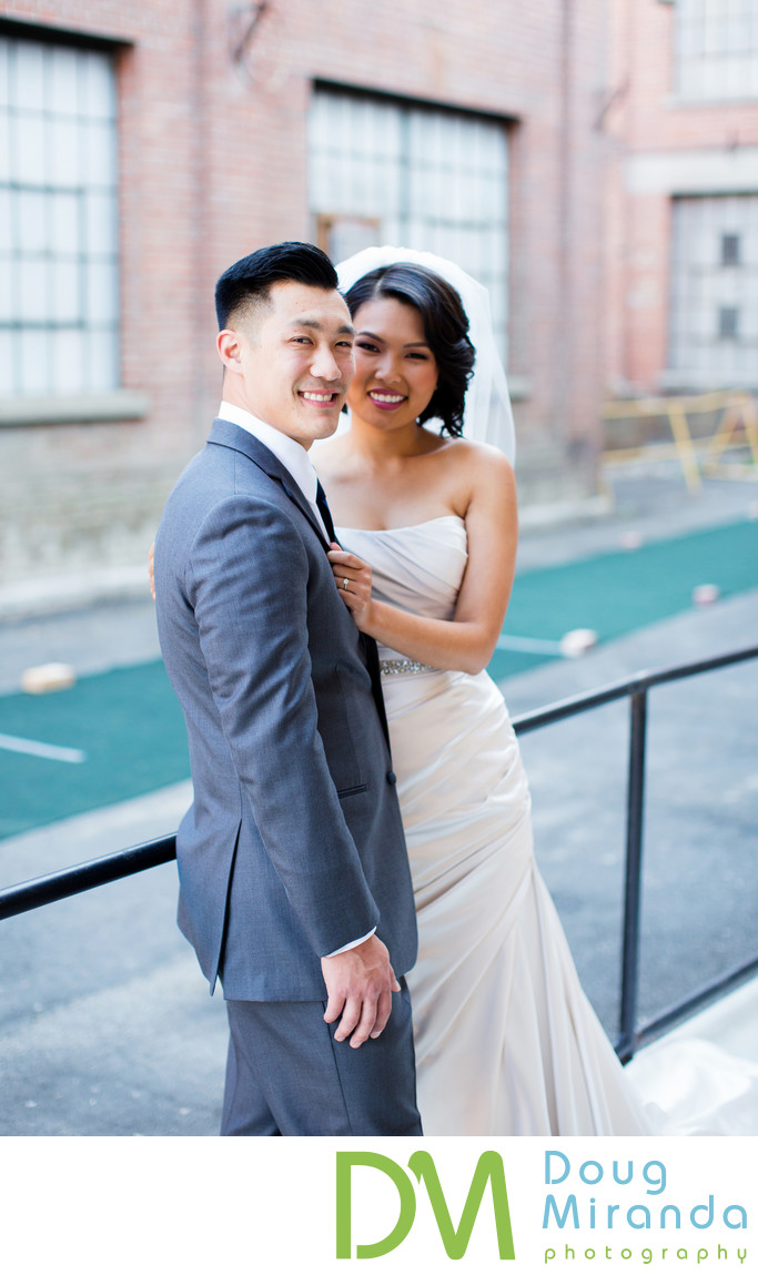 Bride and Groom Portraits at Old Sugar Mill