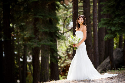 Sugar Bowl Resort Bridal Wedding Photography