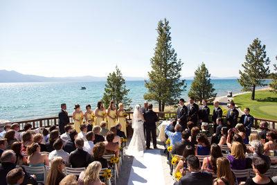Edgewood Tahoe Wedding Ceremony