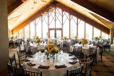 Edgewood Tahoe North Room Wedding Reception Photos