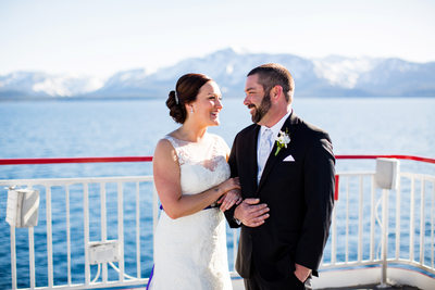 Lake Tahoe Boat Weddings