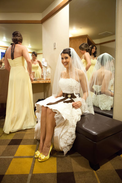 Bride Getting Ready Pictures at Edgewood Tahoe Wedding