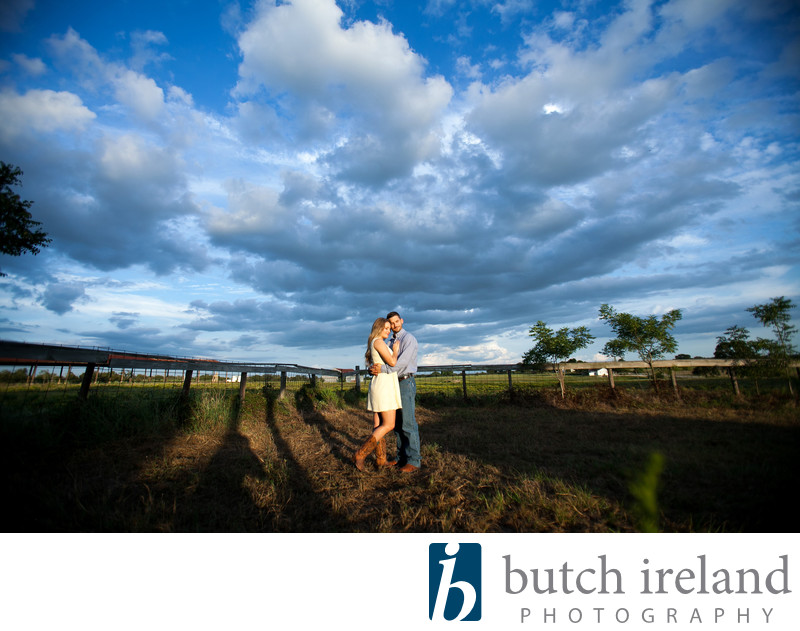 Rustic Texas Engagement Photography