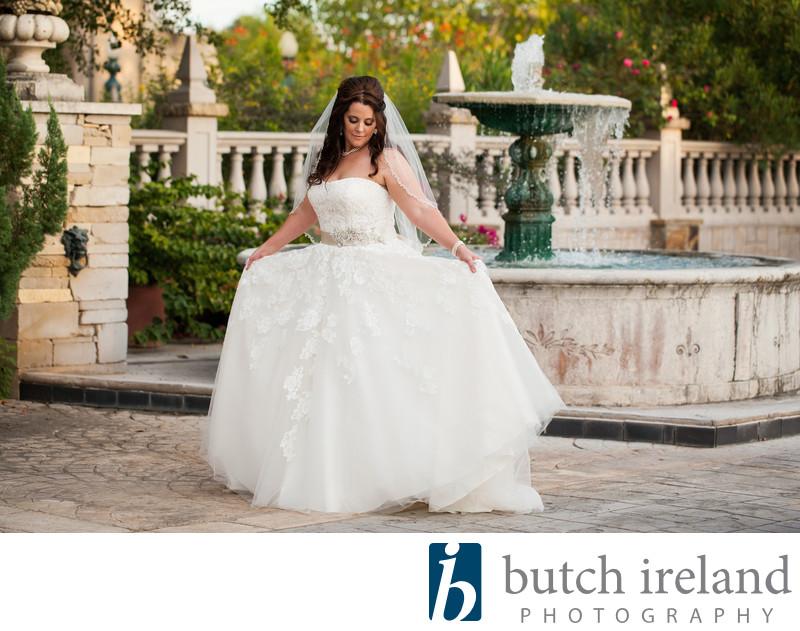 Festival Hill bridal photography