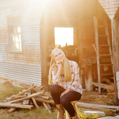 College Station High School Senior Photographer