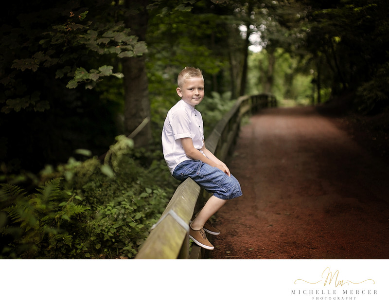Children Photography in Jesmond Dene, Newcastle
