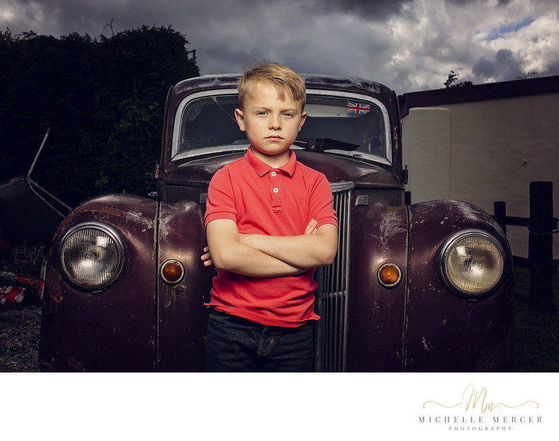 Contemporary Child Photographer in Newcastle