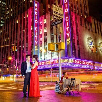 Radio City Engagement