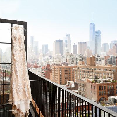 bowery hotel wedding dress