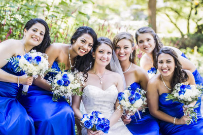 Bridesmaids wedding photography