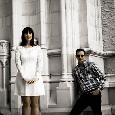 Downtown engagement sessions