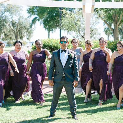 Lakefront Park Kissimmee Wedding