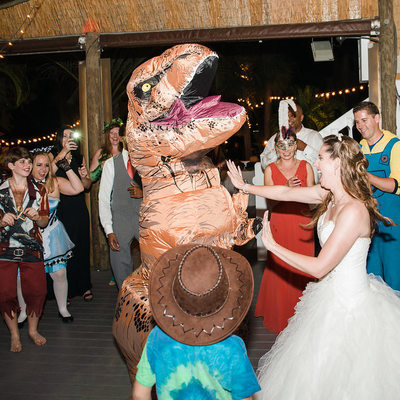 T-Rex Wedding