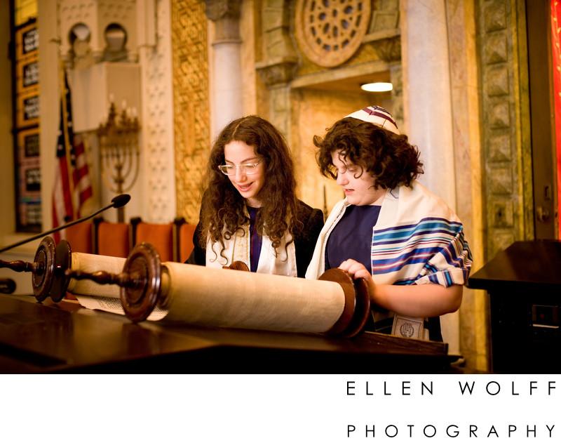 Park Avenue Synagogue Bat Mitzvah photographer