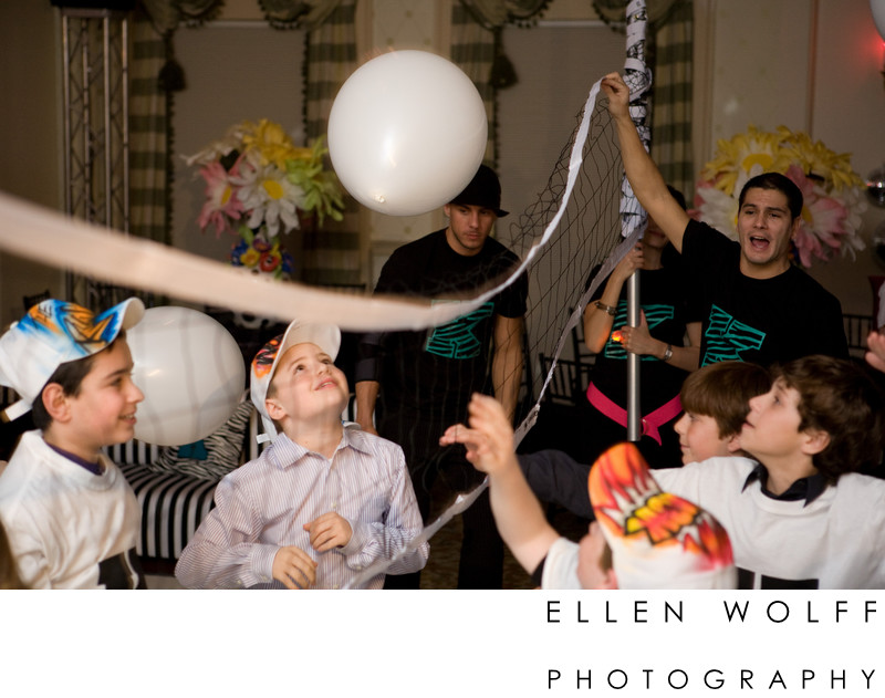 bar mitzvah volleyball