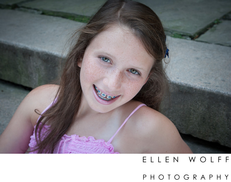 Bat Mitzvah portrait photographer