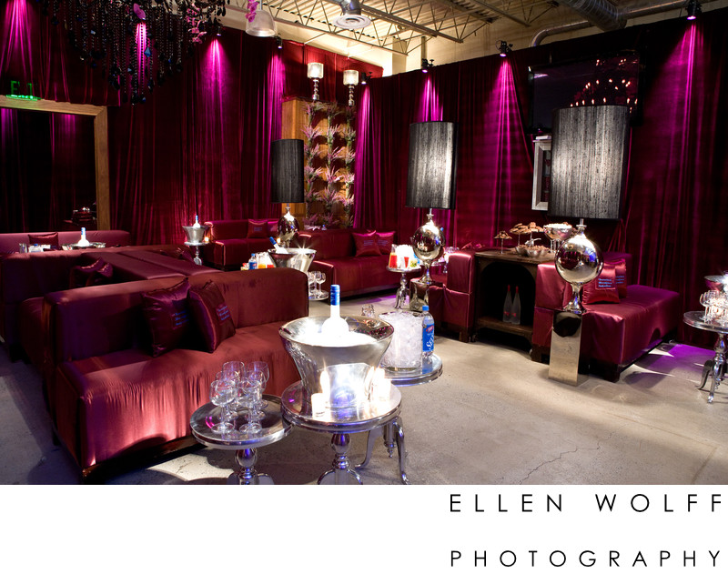 NY lounge party photography
