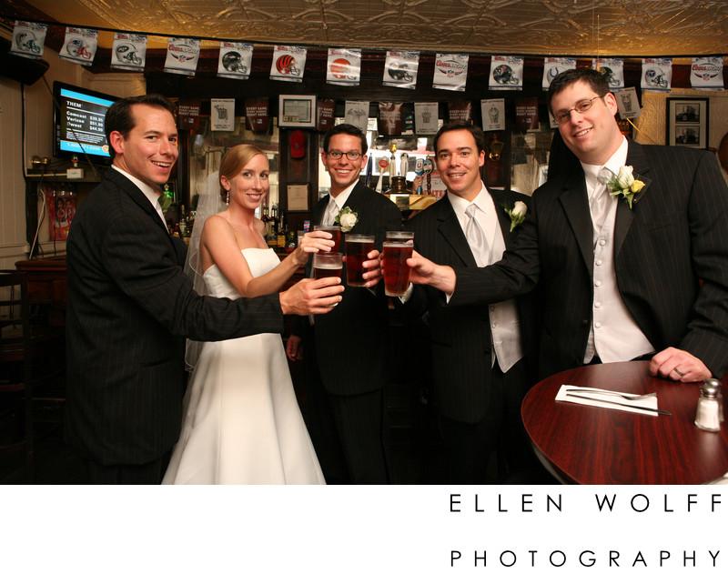 fun wedding photo cold spring ny