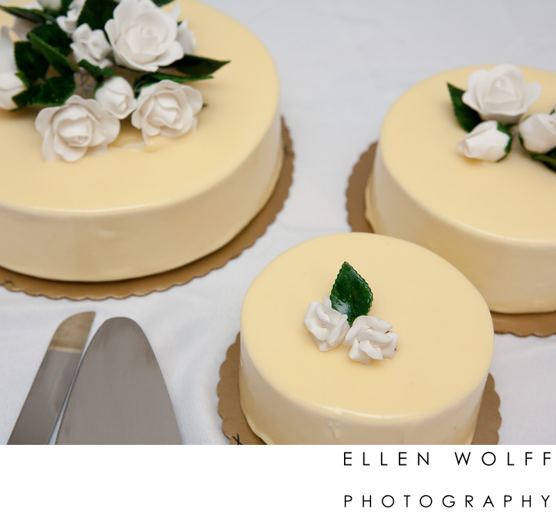 Wedding cake from the Lofts at Prince SoHo NYC
