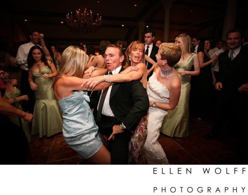 candid dance floor photo