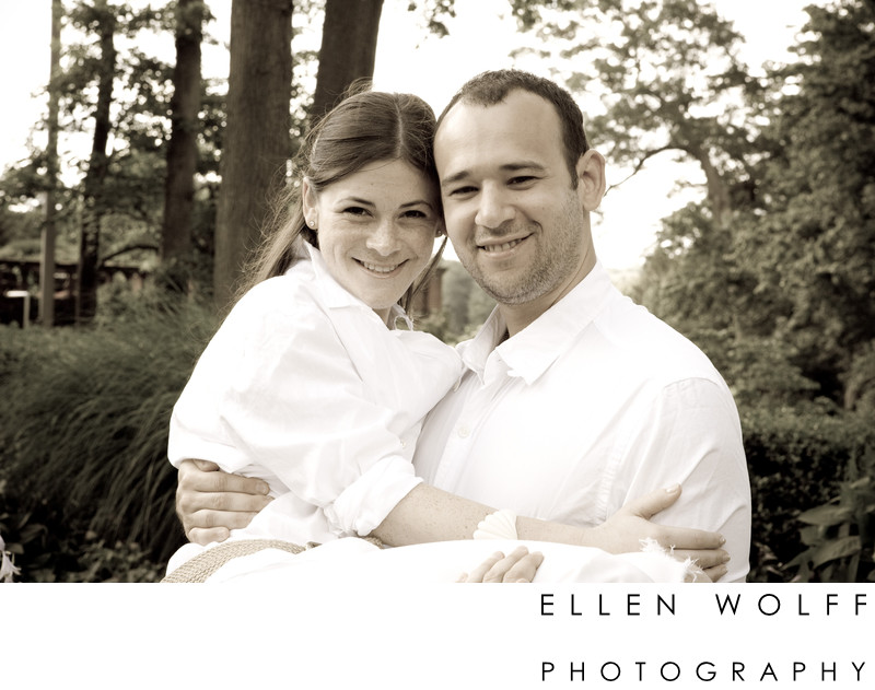 Pine Hollow Country Club engagement session