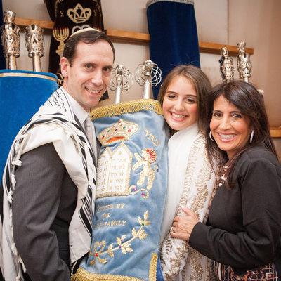 Temple Israel Center Bat Mitzvah photographer