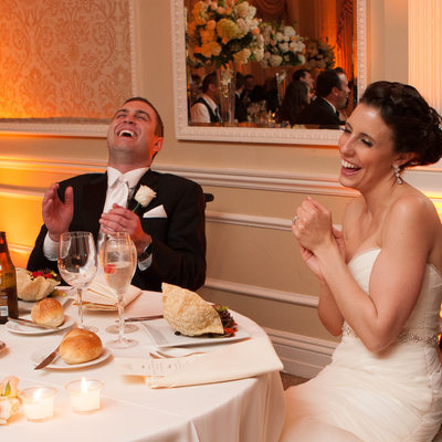 wedding toasts at Muttontown Country Club