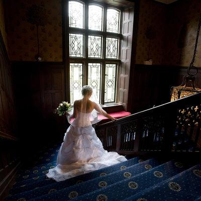 Waveny House wedding photo
