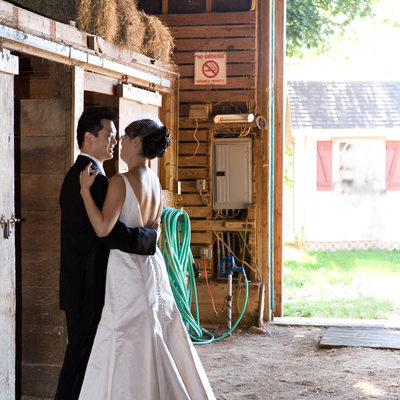 Baiting Hollow Farm Vineyard wedding photography