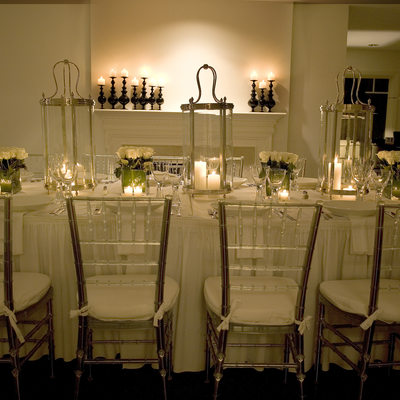 bar mitzvah table settings