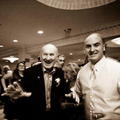 candid candlewood inn wedding reception photo
